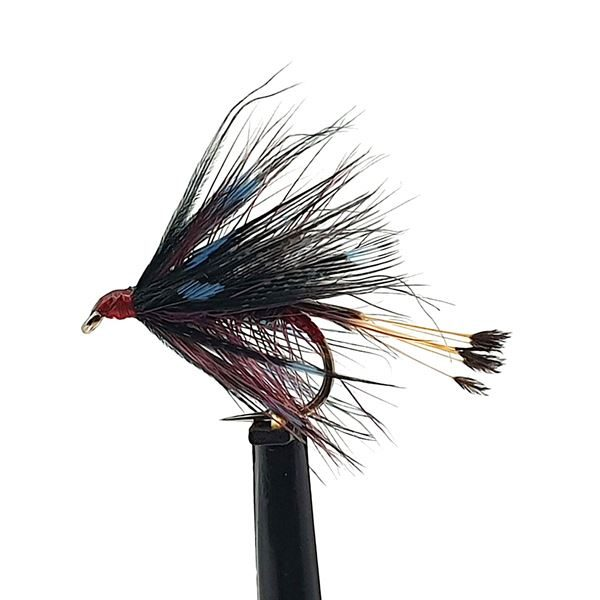 Bumble and Claret Wet Trout Fly