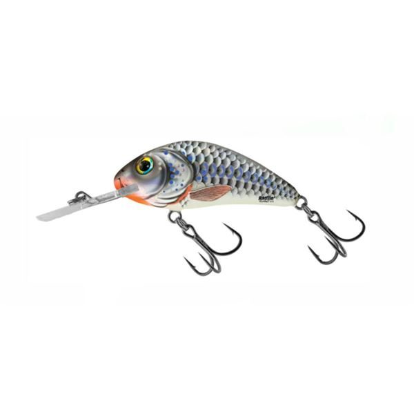 RV-H4F-SHS Salmo Hornet Silver Holographic Shad