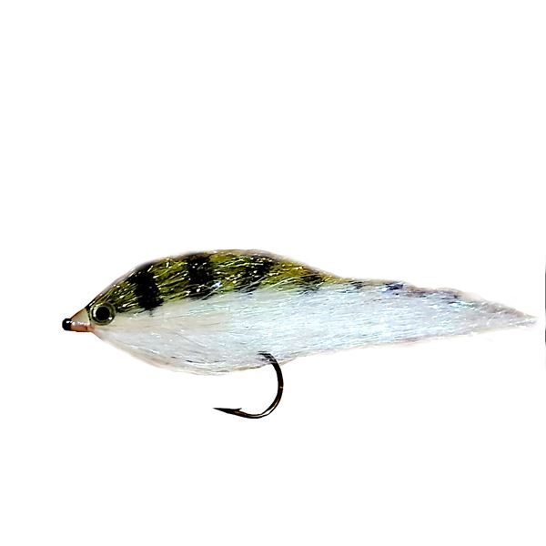 Baitfish Bass Fly Size 2 (12 Pack)