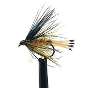 Bumble and Golden Olive Wet Trout Fly