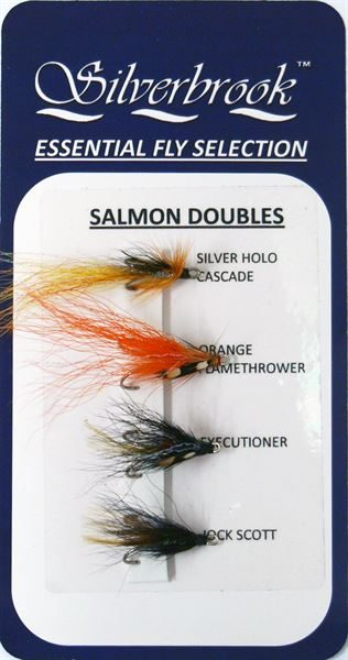 Fly Selection Salmon Doubles