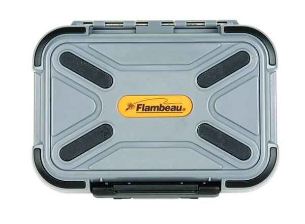 PF-2926CR Flambeau Blue Ribbon Waterproof Comp Ripple Fly Box Closed